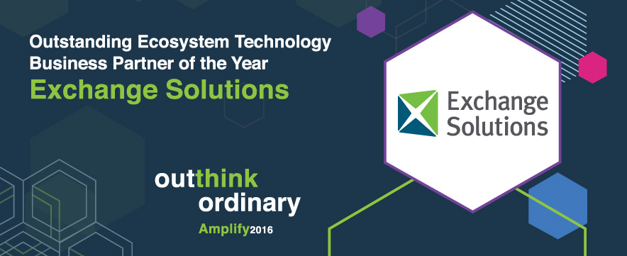 Exchange Solutions Wins Top Honor at IBM Amplify 2016