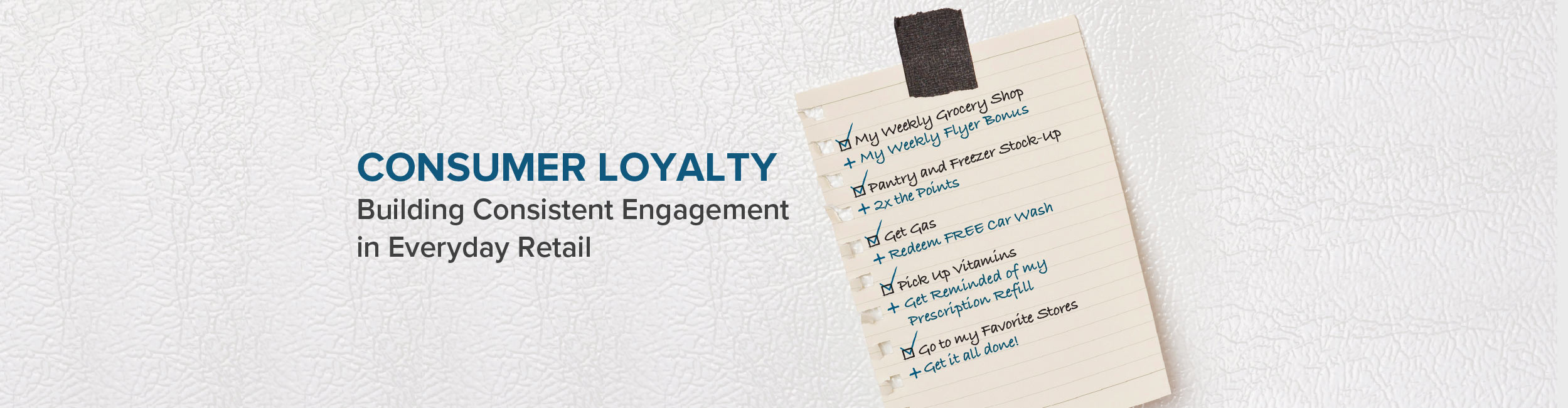 Consumer Loyalty Worksheet
